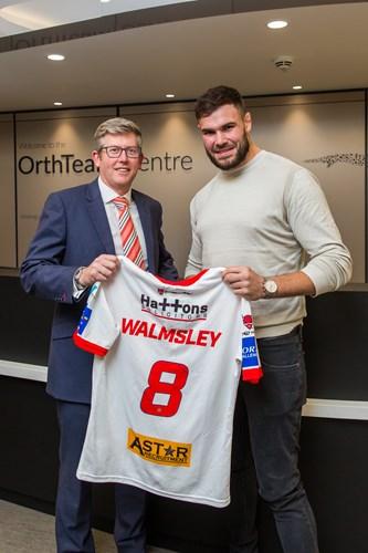 John Leach and Alex Walmsley